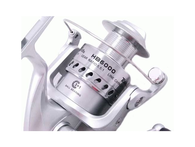 TOKUSHIMA HB6000 Big Surf Beach Boat Spinning Fishing Reel Salmon Tailor Presale 4
