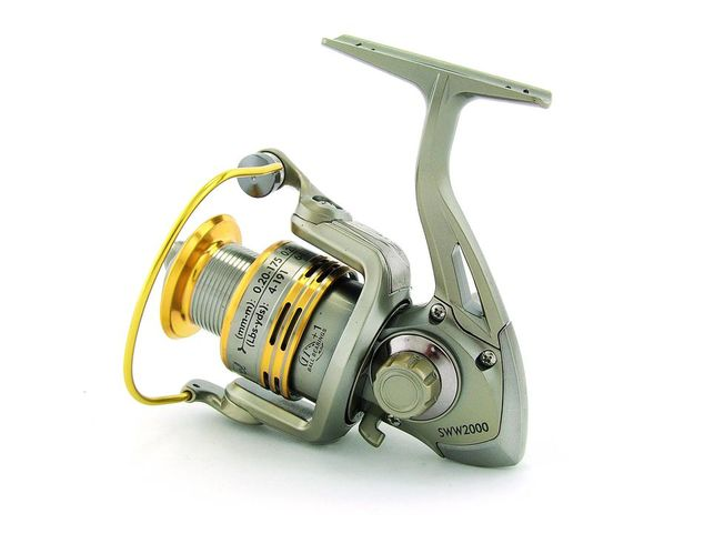 SARATOGA SWW 1000 7BB Bream Spinning Fishing Reel Trout Whiting Soft Plastics 5