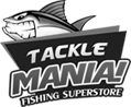 tacklemania gray logo