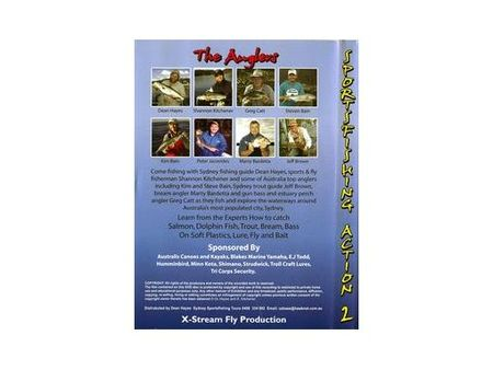 FISHING DVD - SPORTFISHING Action 2