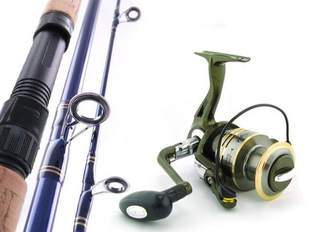 SARATOGA Carbon Fibre 10kg 11'0 MAWLER Surf Fishing Rod and Reel Combo Beach 3pc