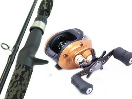 SARATOGA BARRA 6'0 12kg Baitcaster Fishing Rod and Reel Combo Baitcast Boat
