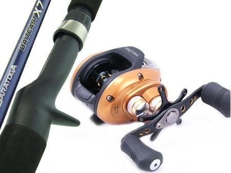 SARATOGA 6kg 6'0 Baitcaster Low Profile Fishing Rod and Reel Combo Barra Tailor