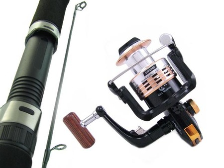 SARATOGA 7'0 10kg Snapper Boat Spinning Fishing Rod and Reel Combo Salmon Tailor