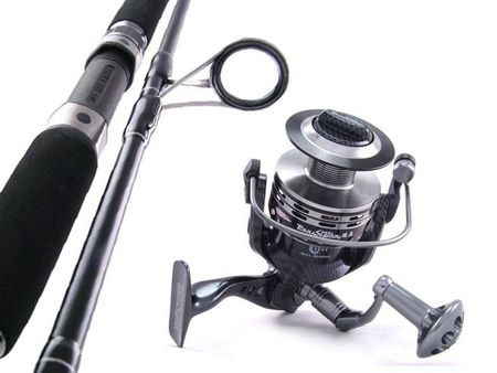 SARATOGA Carbon Fibre 6'3 15kg 14BB Jigging Spinning Fishing Rod and Reel Combo