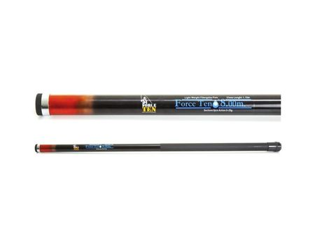 Force Ten Telescopic Fishing Pole 8m 2-4kg 8-Piece Fibreglass Rod 5-25g