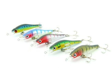 5X SARATOGA Tournament Deep Diving 6gm 9.5cm Salmon/Tailor Fishing Lures