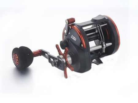 SARATOGA STA Overhead Trolling Jigging Game Boat Fishing Reel Snapper Red