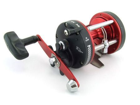 SARATOGA STH 300 Red Overhead Game Trolling Boat Fishing Reel Snapper Tuna