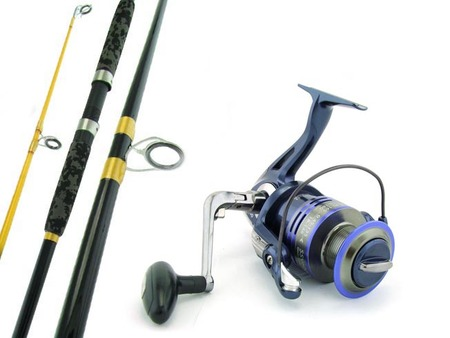 SARATOGA 12'0 15kg Surf Beach Spinning Fishing Rod and Reel Combo Salmon Presale