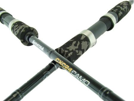 SARATOGA CXC24 CAMO 7' 3-6kg Graphite Soft Plastics Snapper Spinning Fishing Rod